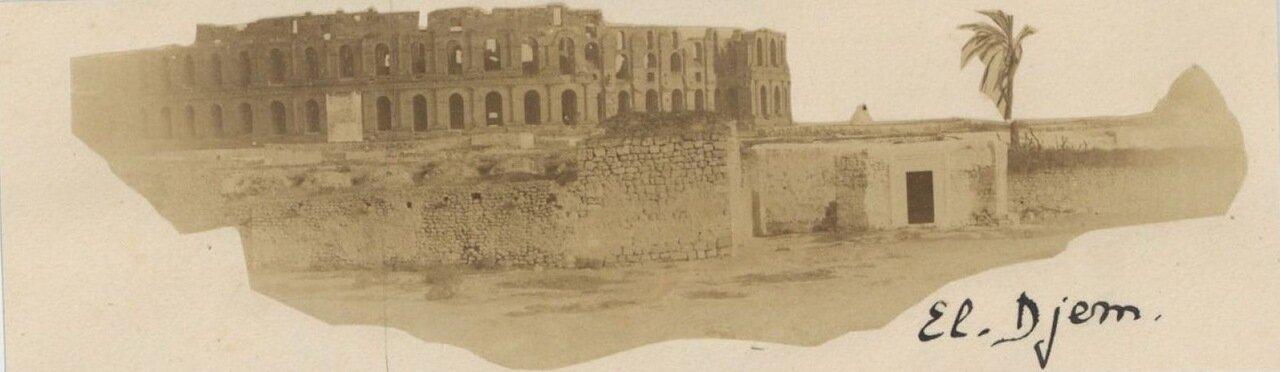 Эль-Джем. Тунис. Развалины амфитеатра