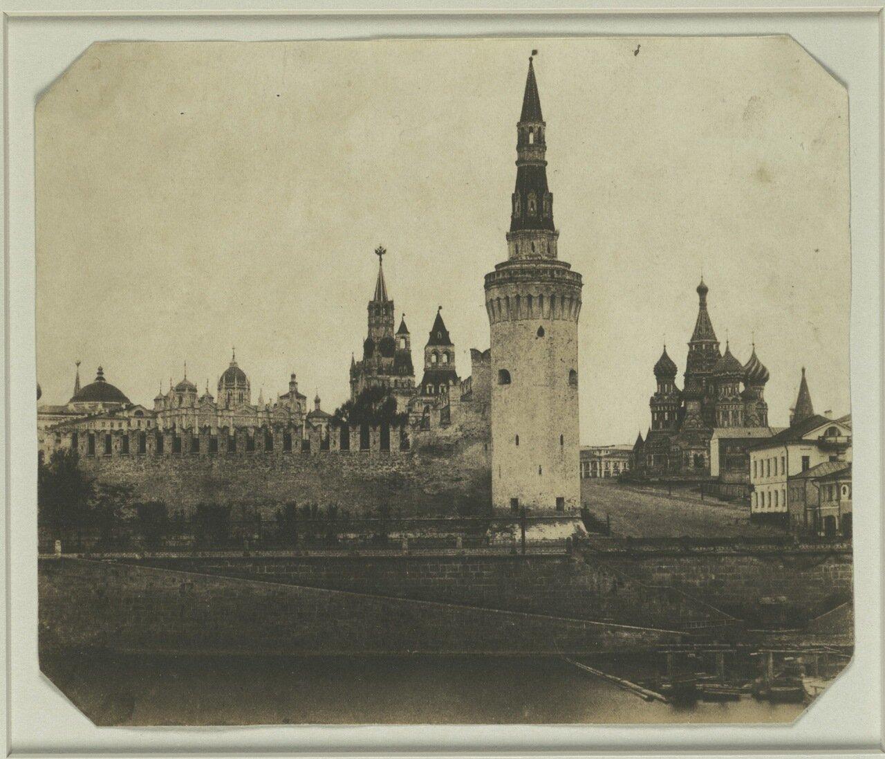 1852. Южная часть Кремля со Старого моста