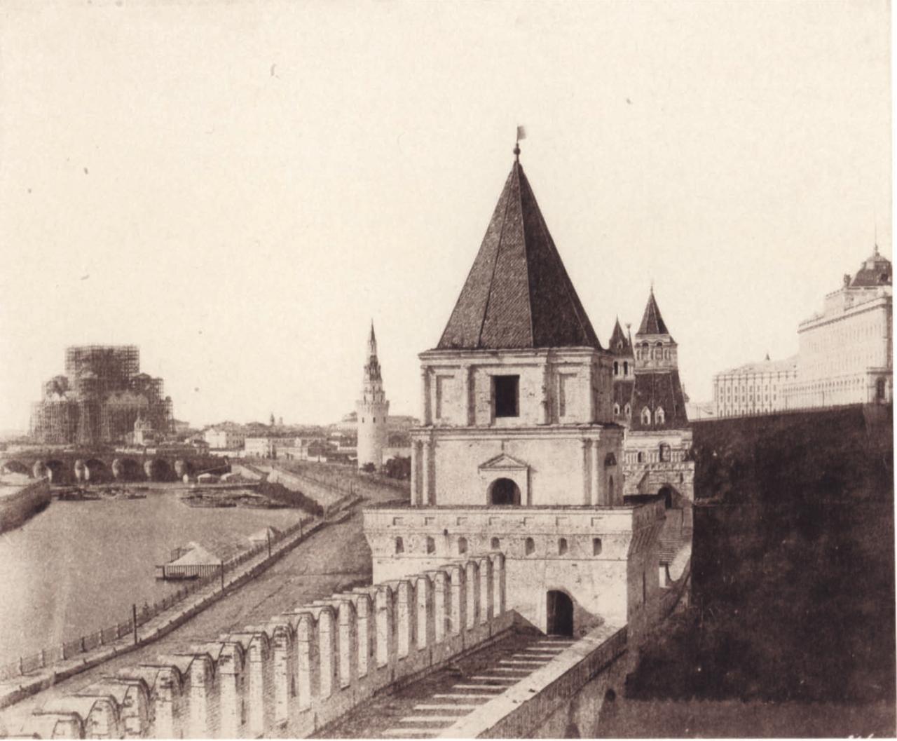 1852. Стены Кремля