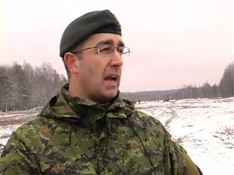 Канадские военные инструкторы приступили к обучению украинских десантников