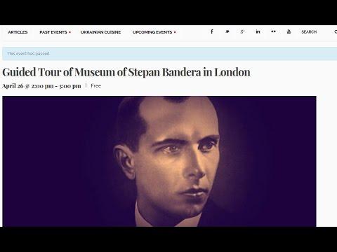 Грэм Филлипс посетил музей Бандеры в Лондоне