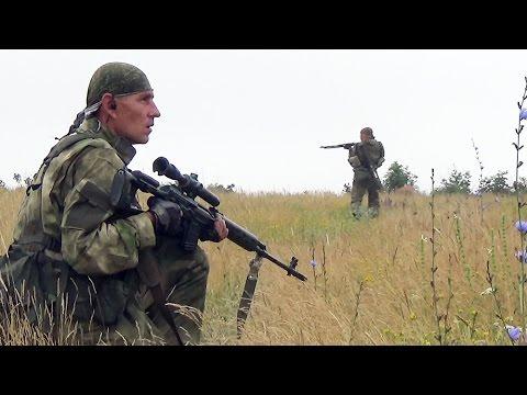 Рейд разведки ДНР вдоль линии соприкосновения под Дебальцево