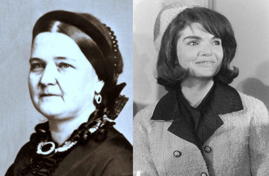 Жаклин Кеннеди и Мэри Тодд Линкольн