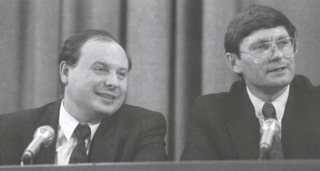 Гайдар и Бальцерович