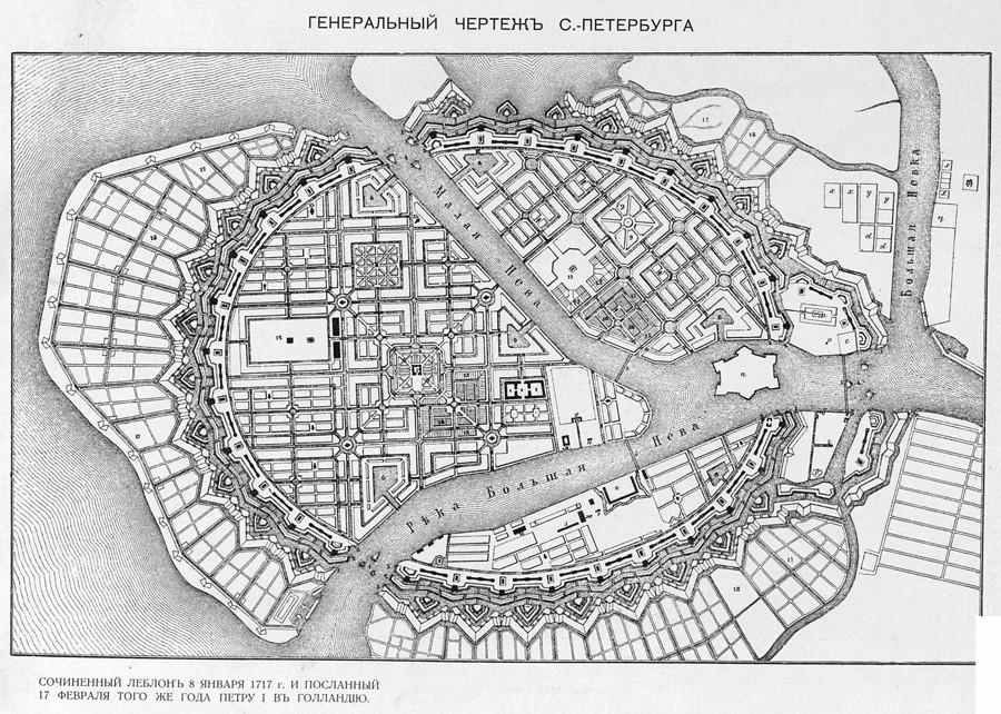 план Петербурга
