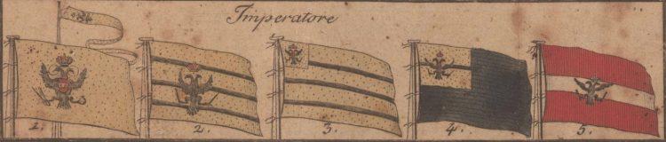 Scotti de Livorno l'Anno 1796.