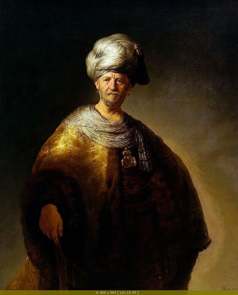 Портрет знатного славянина. Ре́мбрандт Ха́рменс ван Рейн