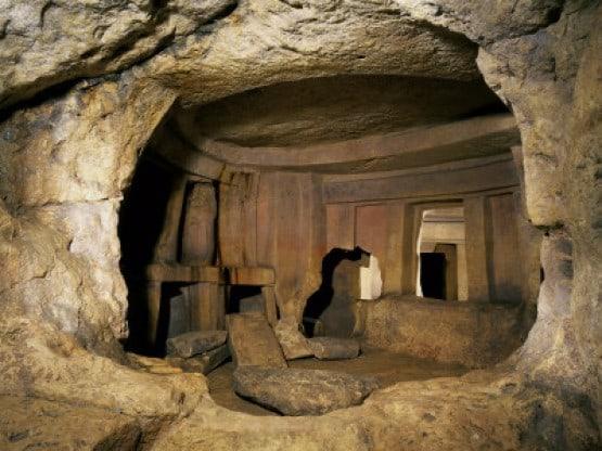 Мальта. Подземный храм Гипогея.
