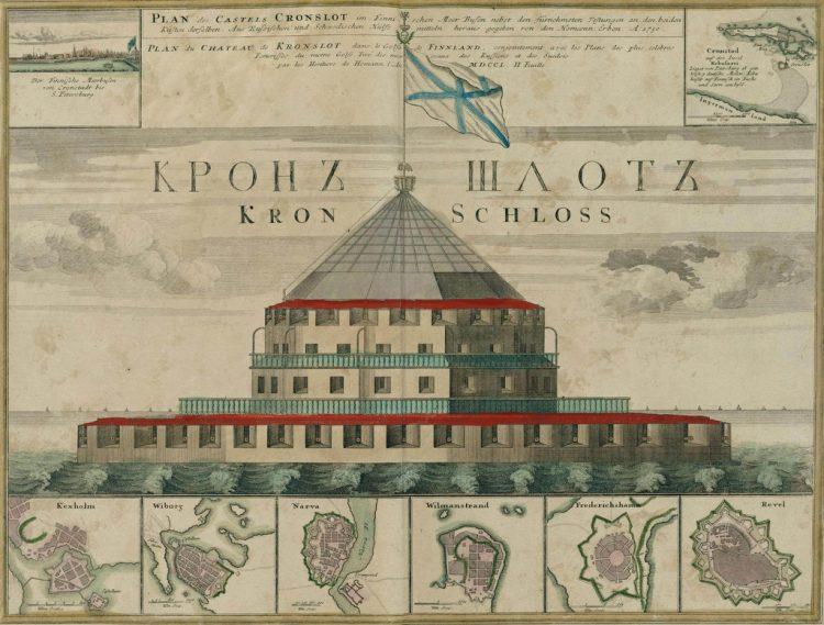 Кроншлот 1750