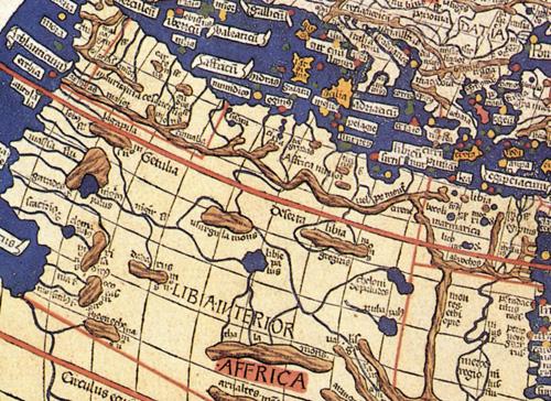 Географические аномалии на старинных картах