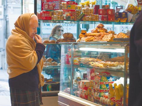 Еда в Москве подорожала втрое