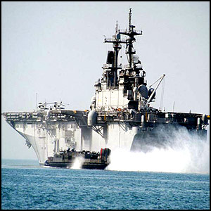 Американцы вламываются в Триполи