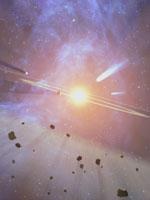Пояс астероидов между Марсом и Юпитером – всё, что осталось от Деи...