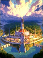 Таким мог быть город Асгард Даарийский – столица легендарной Даарии