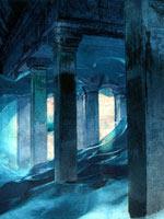 Сооружения в Антарктиде. Иллюстрация с сайта «Заговор Ориона»