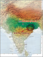 Первый Рай был создан в Земле Хавила в древней Индии (иллюстрация из книги академика Н.В. Левашова «Россия в кривых зеркалах»