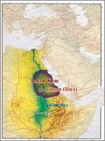 Второй Рай был оборудован в Земле Куш (Эфиопия) (иллюстрация из книги академика Н.В. Левашова «Россия в кривых зеркалах»