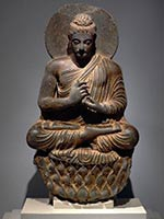 Будда 2-3 вв. Гандхара (Пакистан)