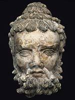 Голова защитника символа могущества Будды, Ваджрапани