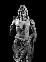 Стоящий боддхисатва. 3-4 вв н.э. Гандхара, Афганистан или Пакистан