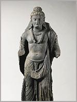 Стоящий боддхисатва. 3-4 вв н.э. Гандхара