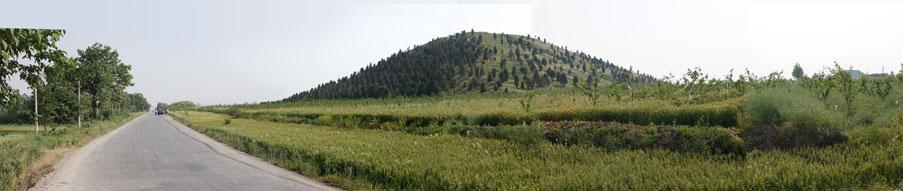 Пирамиды в Китае