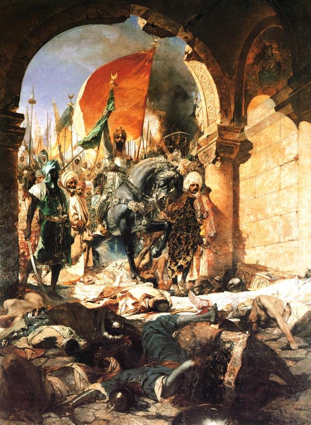 Жан-Жозеф Бенжамен-Констан. Вступление Мехмеда II в Константинополь. 1876