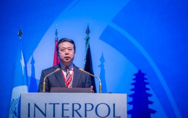 Китай арестовал директора интерпола