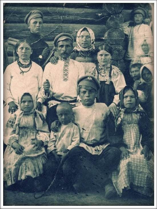 Старинные фото о русском костюме и быте