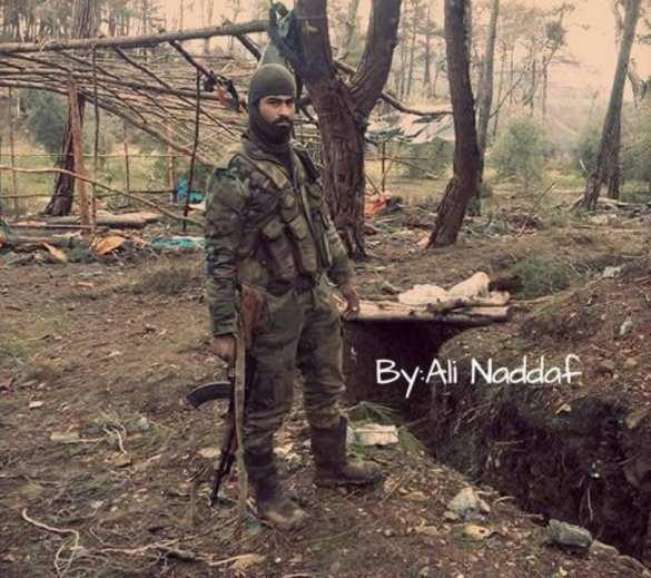 У турецкой границы Республиканская гвардия освободила деревню Сараф (см. фото 1)