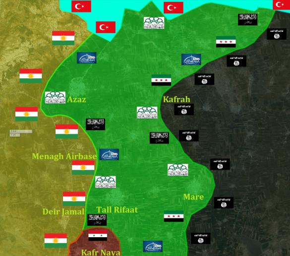 МОЛНИЯ: «Огненный ад» — Турция начала массированные обстрелы курдов в Алеппо (+ФОТО, КАРТА)   Русская весна