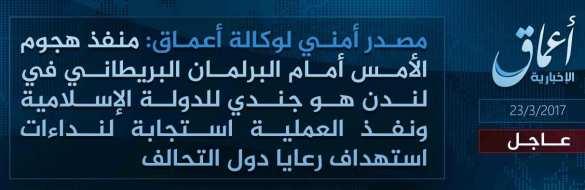 СРОЧНО: В ИГИЛ взяли ответственность за теракт в Лондоне | Русская весна