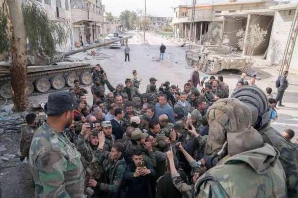 СРОЧНО: Асад прибыл напередовую вВосточную Гуту (ФОТО) | Русская весна