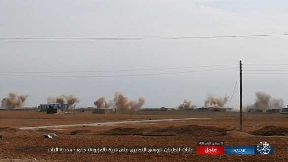 Сотни ракет ВКС России и «Тигры» ровняют с землей позиции ИГИЛ на востоке Алеппо (ФОТО, КАРТА) | Русская весна