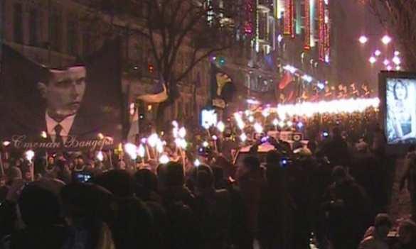Неонацистское шествие с факелами: как Украина отпраздновала день рождения Бандеры (ФОТО, ВИДЕО) | Русская весна