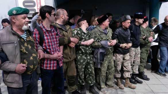 Муза такинепришла, зато пришли казаки (ФОТО, ВИДЕО) | Русская весна
