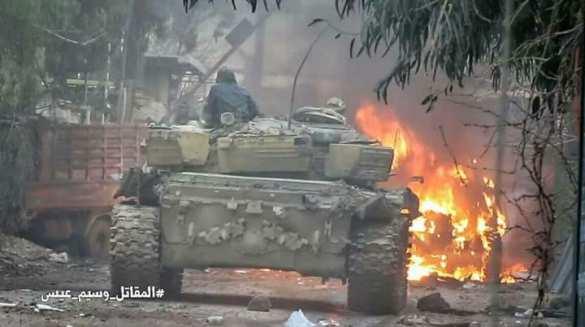 Кадры жестоких боев: Банды атакуют Дамаск и несут большие потери (ФОТО, ВИДЕО 18+)   Русская весна