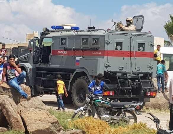 Новейший бронеавтомобиль российского спецназа в Сирии (ФОТО, ВИДЕО)   Русская весна