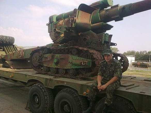 К отправке на Донбасс готовят гаубицы Б-4 производства 1937—1941 гг.?   Русская весна