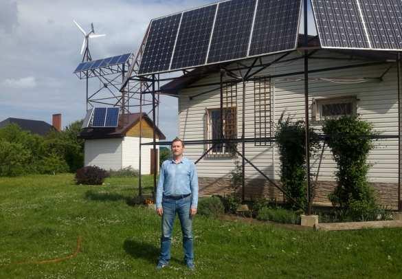 Не лыком шиты, или как изобретатель домашней электростанции 5 лет живёт в полной автономии (ФОТО) | Русская весна
