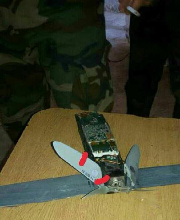 Сирия: Сбитые вблизи базы ВКС РФ дроны боевиков несли мины (ФОТО) | Русская весна