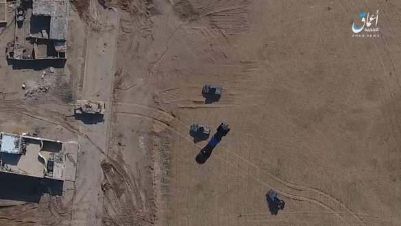 Дрон ИГИЛ уничтожил «Хаммер» бомбовым ударом (ФОТО, ВИДЕО) | Русская весна