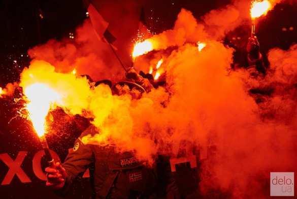 В Киеве состоялось неонацистское шествие ко Дню соборности Украины (ФОТО) | Русская весна
