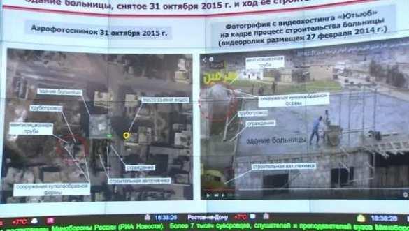 Минобороны показало снимки якобы «разрушенного» ВКС РФ госпиталя в Сирии (ФОТО) | Русская весна
