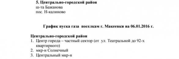 «Донбассгаз» направил дополнительно 160 специалистов для восстановления газоснабжения Макеевки (ГРАФИК) | Русская весна