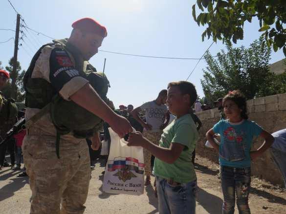 Сирия: Под прикрытием «Тигров» и БПЛА конвой Минобороны прибыл в прифронтовую зону (ВИДЕО) | Русская весна