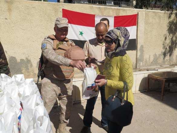 «Шукран, Русия!» — сирийцы встречают российских солдат-освободителей (ФОТО) | Русская весна