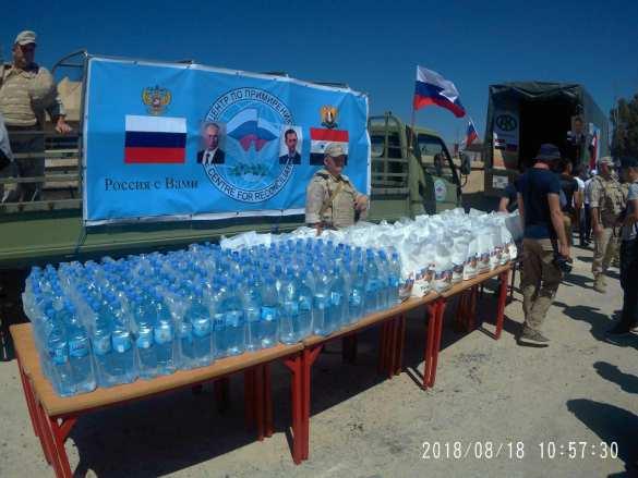 Сирия: российские военные в освобождённом от боевиков районе у границы с Израилем (ФОТО) | Русская весна