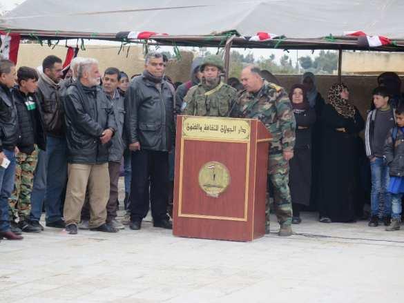 «Спасибо Россия!» Миссия российских военных на юге Сирии (ФОТО) | Русская весна