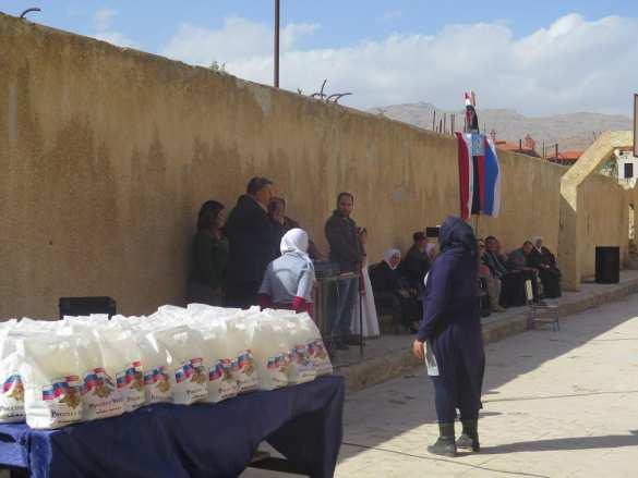 «Спасибо, Россия! Спасибо русским солдатам!» — врайский уголок Сирии прибыл конвой Минобороны РФ (ФОТО) | Русская весна